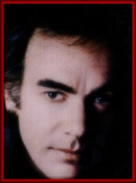 Oil Portrait of Neil Diamond by Sharen Carter 1986