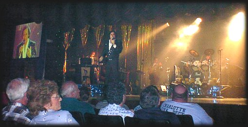 Tom Sadge as NEIL DIAMOND, Memories Theatre, Pigeon Forge, TN 7-16-01