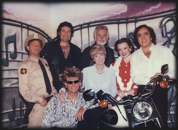 Kenny James as Barney Fife, Lou Nelson as Tom Jones, Mark Hinds as Kenny Rogers, Christine Llewellyn as Patsy Cline, Tom Sadge as Neil Diamond, Dave Battah as Rod Stewart