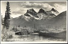 47(d). Three Sisters. Banff.