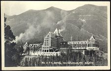 48(b). C.P.R. Hotel and Sulphur Mt. Banff.