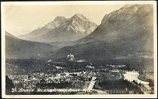 51(e). Banff Village and Goat Mtn.