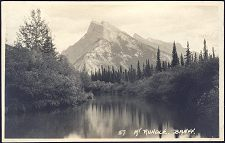 57(b). Mt Rundle. Banff.