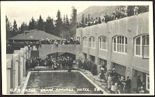 C.P.R. Baths. Banff Springs Hotel.  58(b).