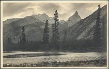 Mt Edith. Banff. 60.