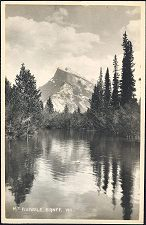 MT RUNDLE. BANFF. 100.