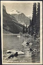 119. Lake Louise.  Mt LeFroy.