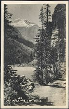 122(b). Mt LeFroy, Lake Louise.