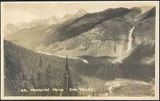 143.Takakaw Falls. Yoho Valley.