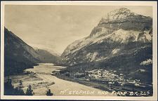 Mt Stephen and Field. B.C.  245(d)