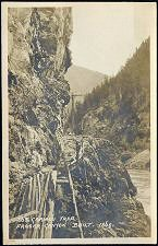 363. Caribou Trail / Fraser Canyon   Built. 1860.