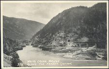 White Creek Bridge. / 372(b). Along The Fraser Canyon.