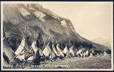 500(b). Stoney Indian Encampment.