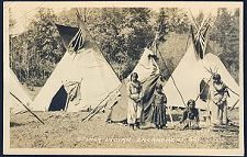 Stoney Indian Emcampment. 501.