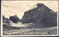 583(a). Mt LeFroy and The Mitre. Lake Louise.