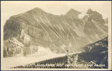 602. Mts. Saddleback and Aberdeen. Lake Louise.