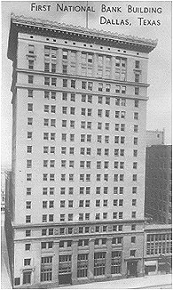 First National Bank Building, Dallas, Texas