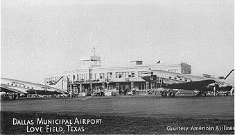 Dallas Municipal Airport, Love Field, Texas