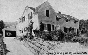 Home of Wm. S. Hart, Hollywood, Calif.